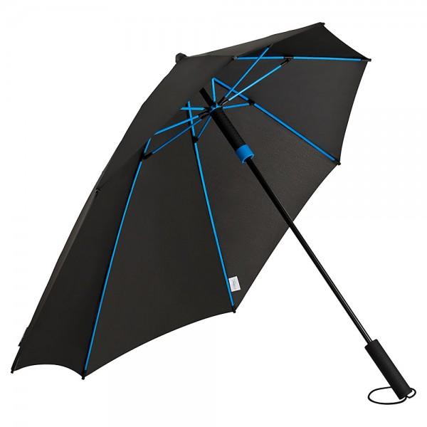 Regenschirm Sturmschirm Alex, blau