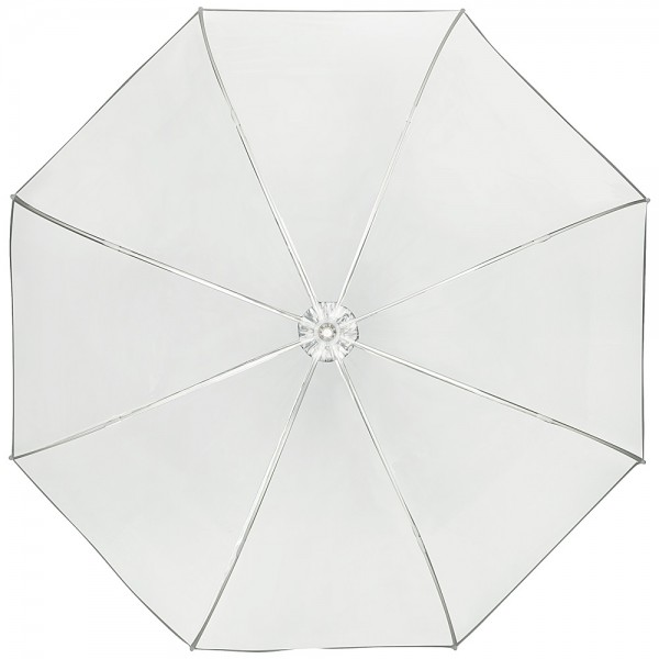 "Umbrella transparent Melina""white"