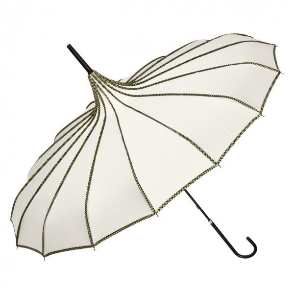 Regenschirm Sonnenschirm Pagode Justine, creme