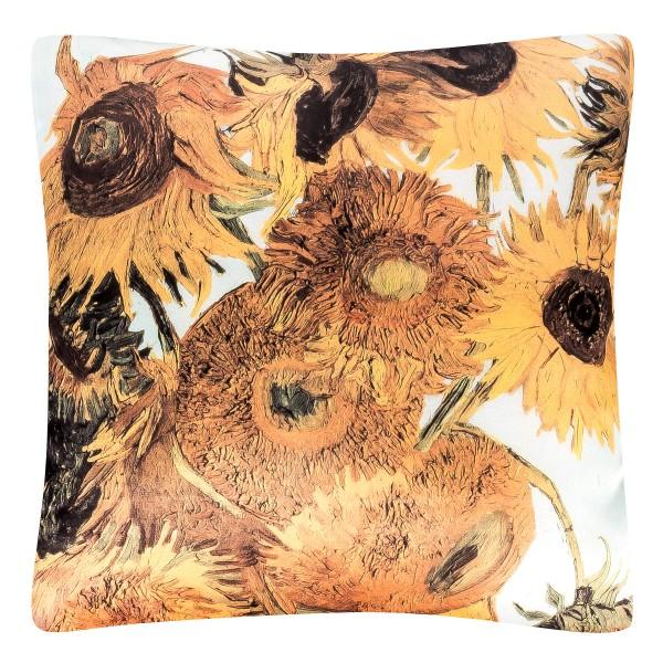 Cushion 40 x 40 Vincent van Gogh: Sunflowers
