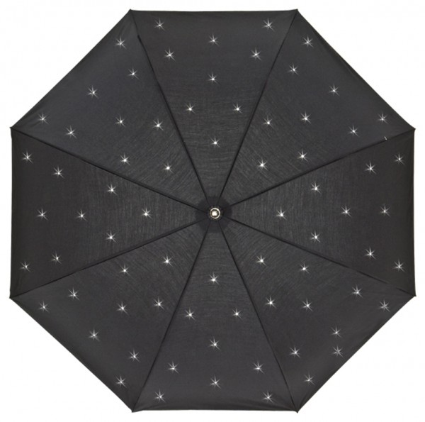 Regenschirm Lea, schwarz MADE WITH SWAROVSKI® ELEMENTS