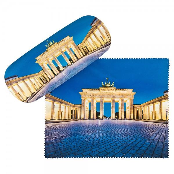 Brillenetui Hardcase Motiv Brandenburger Tor