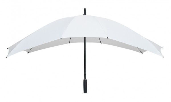 Regenschirm Partnerschirm Maxi weiß