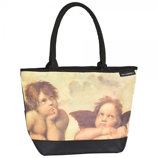 Tasche Shopper bedruckt Kunst Motiv Raffael: Engel