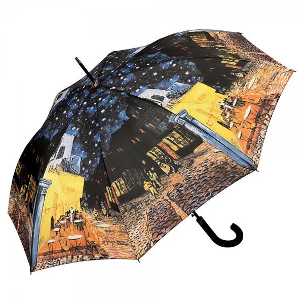 Regenschirm Motiv Kunst Automatik Vincent van Gogh: Nachtcafé