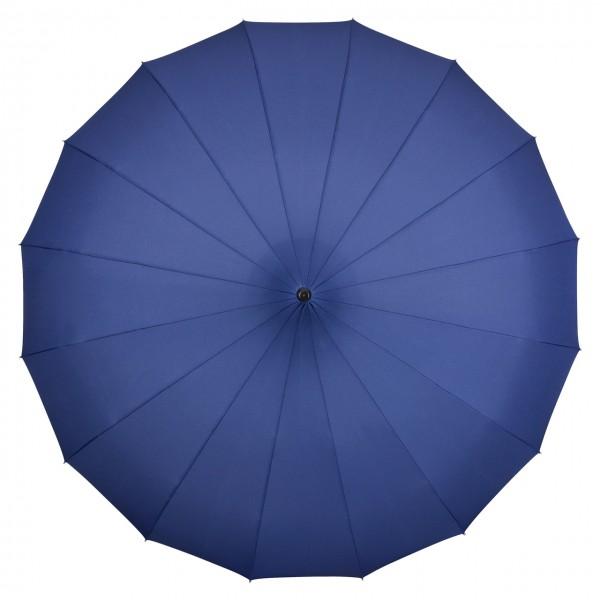 """Regenschirm Sonnenschirm Pagode """"Cécile"""", blau"""