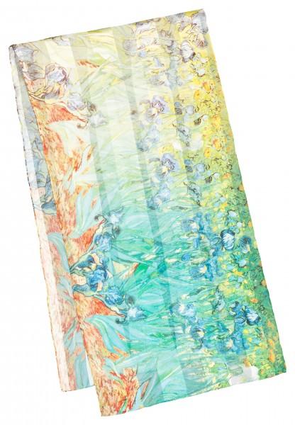 "Seidenschal Vincent van Gogh: ""Iris"""