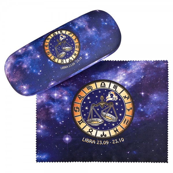 Glasses case Sign of Zodiac Libra
