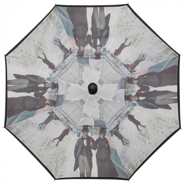 Regenschirm Inverted Autofahrerschirm Gustave Caillebotte: Paris im Regen