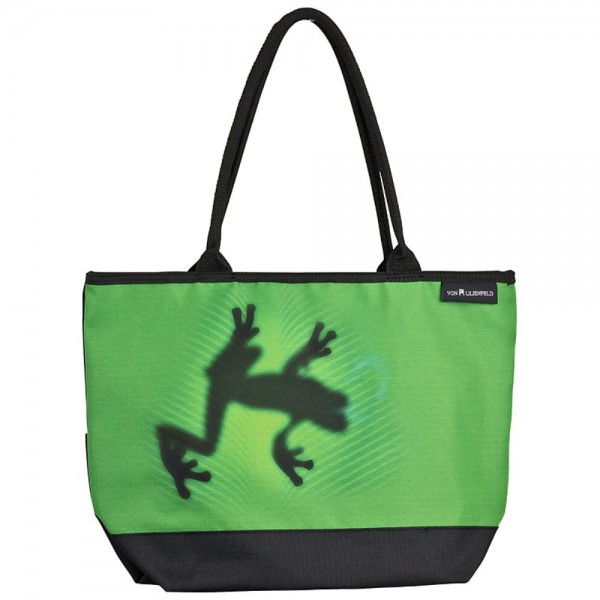 Tasche Shopper bedruckt mit Motiv Schattenfrosch