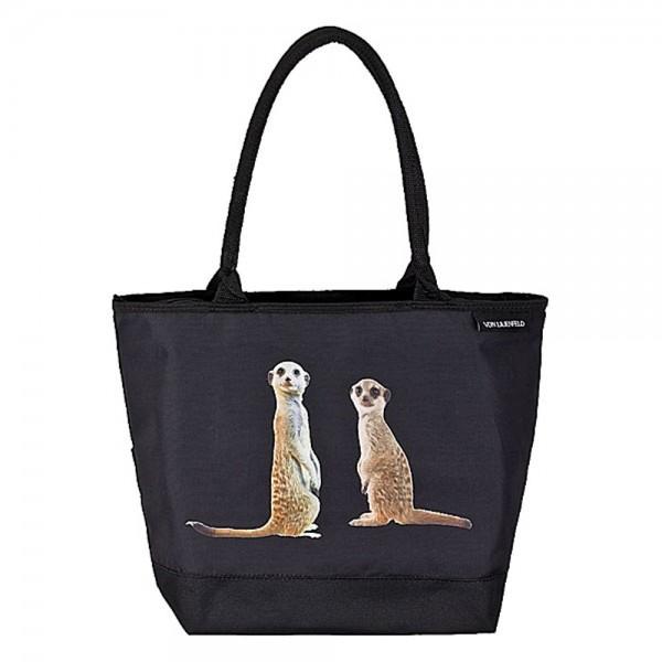 Tasche Damen Henkeltasche Shopper Erdmännchen