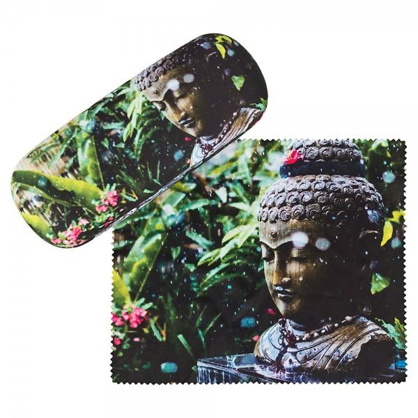Brillenetui Hardcase Motiv Buddha