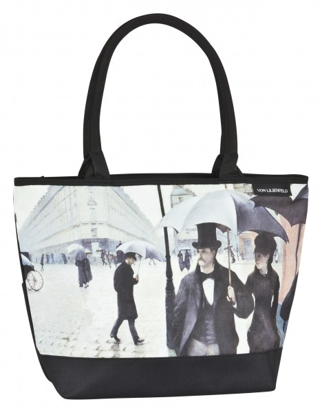 Tote Bag Shopping Art Gustave Caillebotte: Rainy Paris