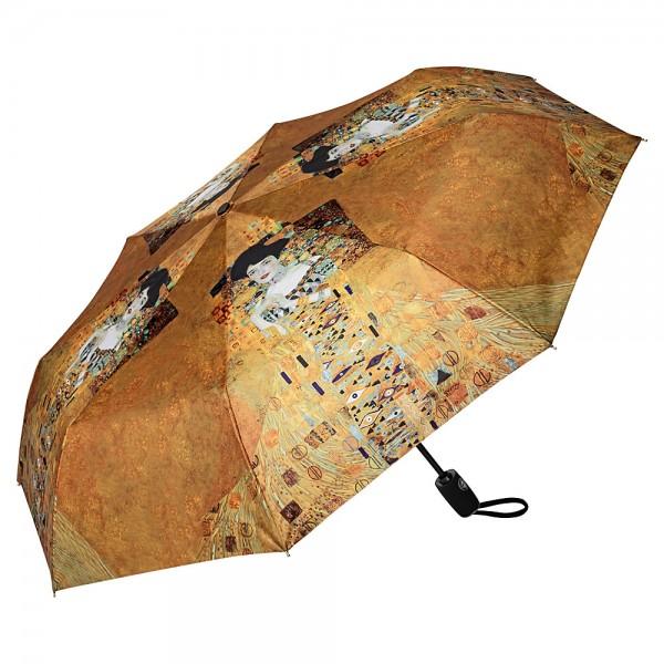 Taschenschirm Stabil Leicht Kunst Gustav Klimt: Adele Auf-Zu-Automatik