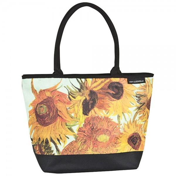 Tasche Shopper Umhängetasche Vincent van Gogh: Sonnenblumen