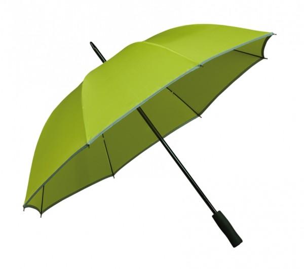 Regenschirm Reflektor-Streifen Finn grün