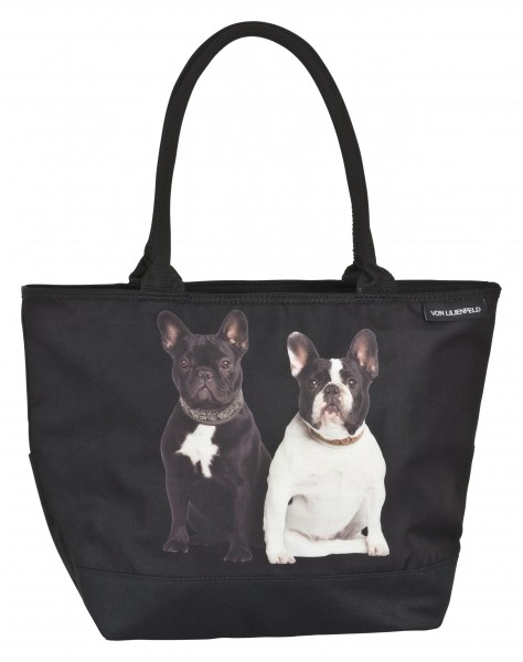 Tote Bag Shopping Dog French Bulldogs