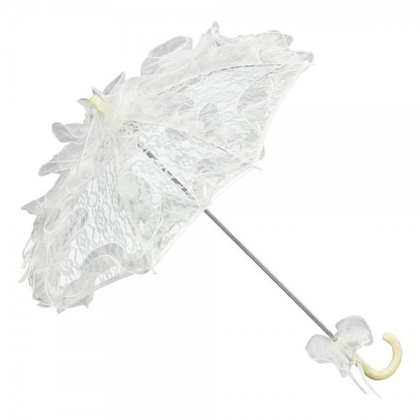 Bridal Wedding Umbrella Madeleine, cream