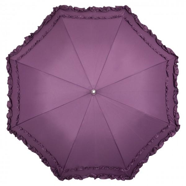 """Regenschirm Sonnenschirm Automatikschirm """"Mary"""", violett"""
