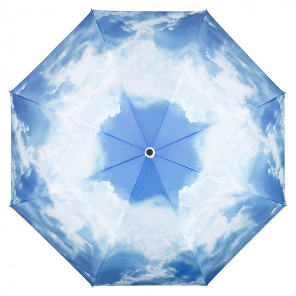 Folding Pocket Umbrella Automatic Telescopic Hamburg Sky