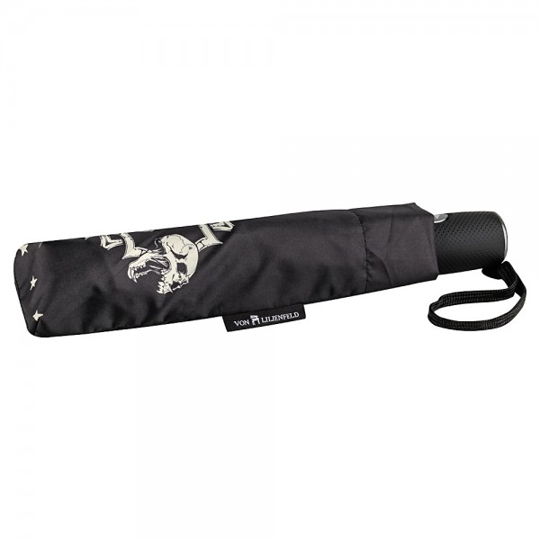 Folding Pocket Umbrella Auto-open-close Automatic Telescopic Skull