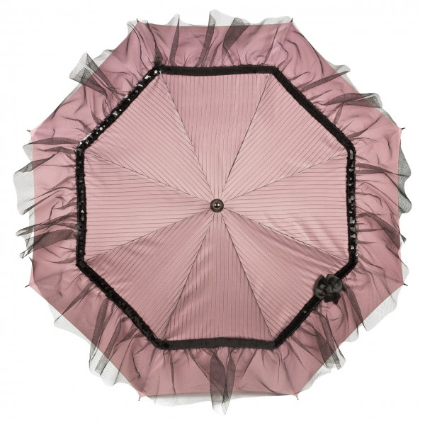 "Design umbrella ""Elodie"", pink"