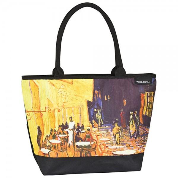 "Tasche Shopper bedruckt mit Motiv Vincent van Gogh: ""Nachtcafé"""