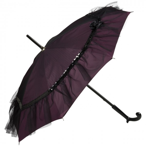 "Design umbrella ""Elodie"", purple"