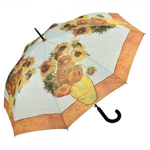 Umbrella Automatic Motif Art Vincent van Gogh: Sunflowers