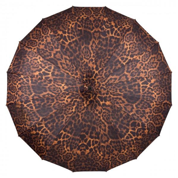 """Regenschirm Pagode """"Cécile"""", Leopard"""