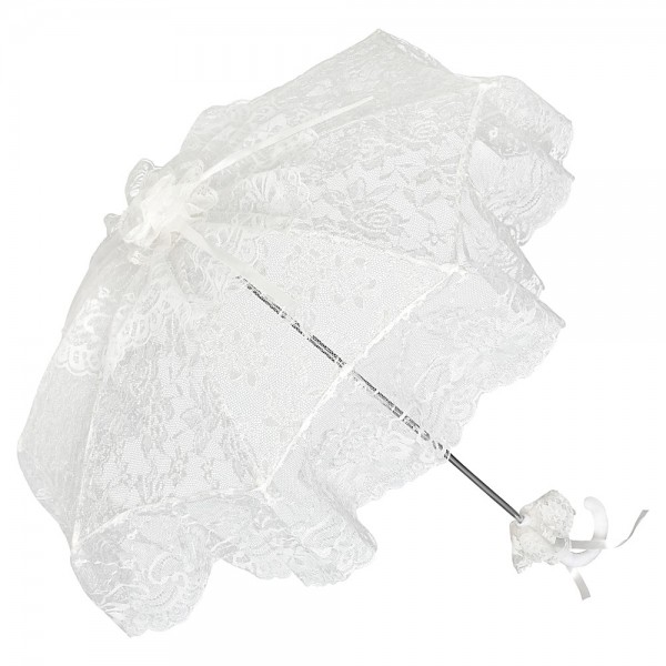 "Bridal umbrella ""Josephine"", champagne"