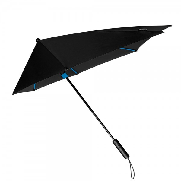 Umbrella Storm Proof Special Shape Alex blue