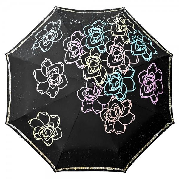 Taschenschirm Farbwechsel bei Regen Auf-und-Zu-Automatik Julia