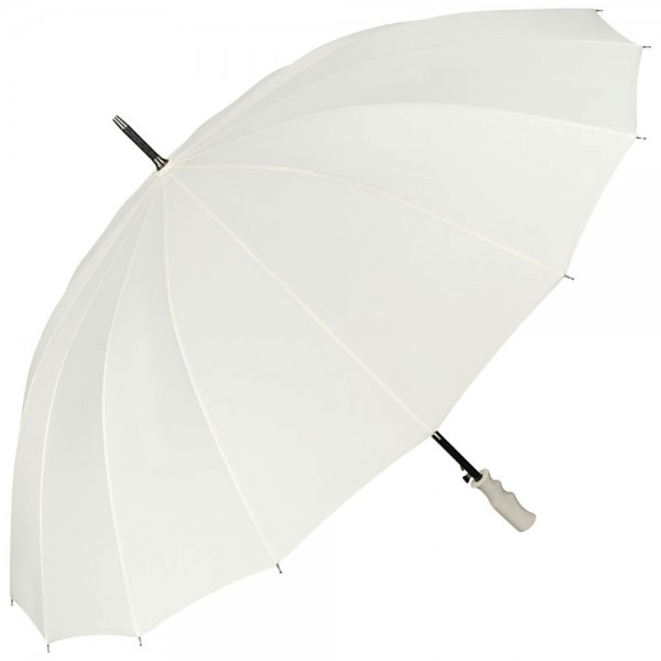 Automatic Umbrella Wedding XXL Cleo ecru