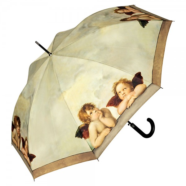 Umbrella Automatic Motif Art Raffael: Angels
