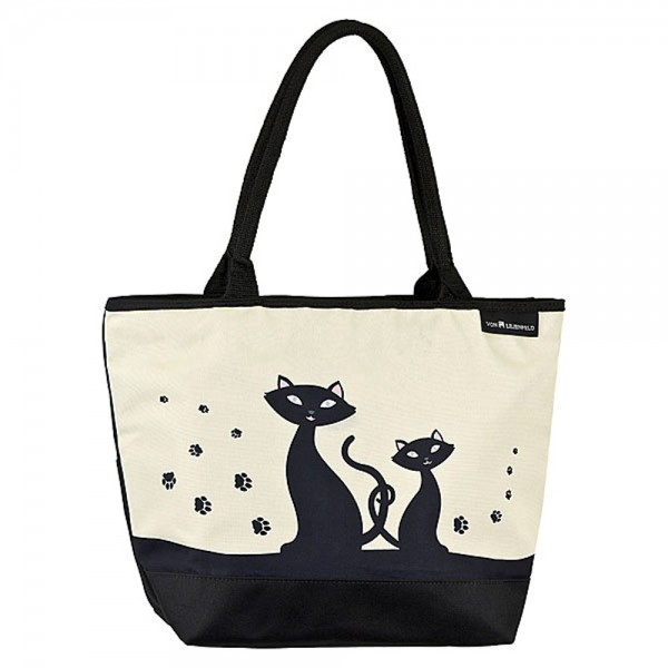 Tote Bag Shopping Black Cats