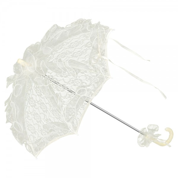 Bridal Wedding Umbrella Madeleine Cream
