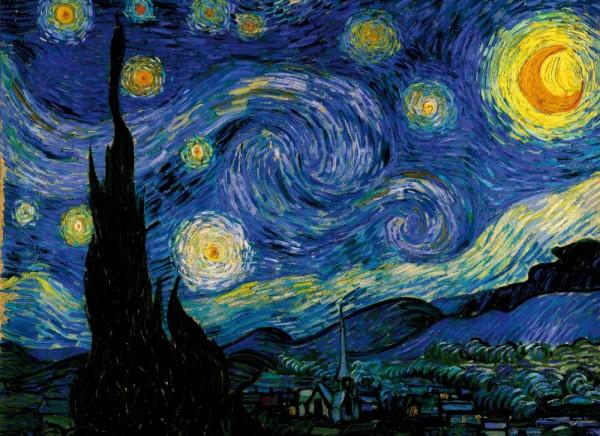 Cushion 40 x 40 Vincent van Gogh: Starry Night