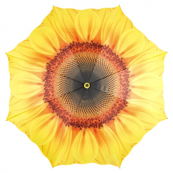 Umbrella Automatic Flower Sunflower