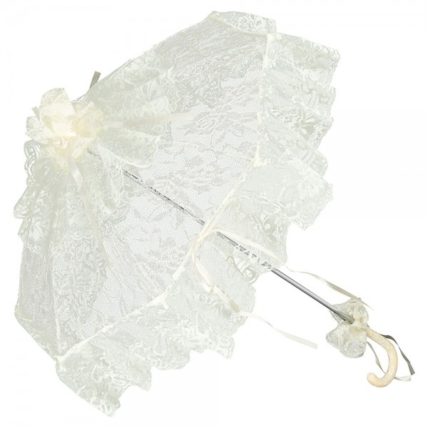 "Bridal umbrella ""Josephine"", champagne"