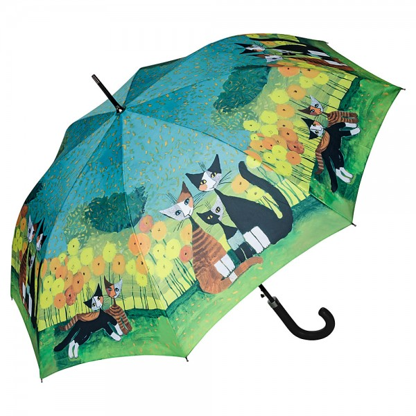 Umbrella Automatic Motif Art Cats Rosina Wachtmeister: All Together