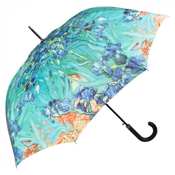 Regenschirm Kunst Motiv Vincent van Gogh: Iris