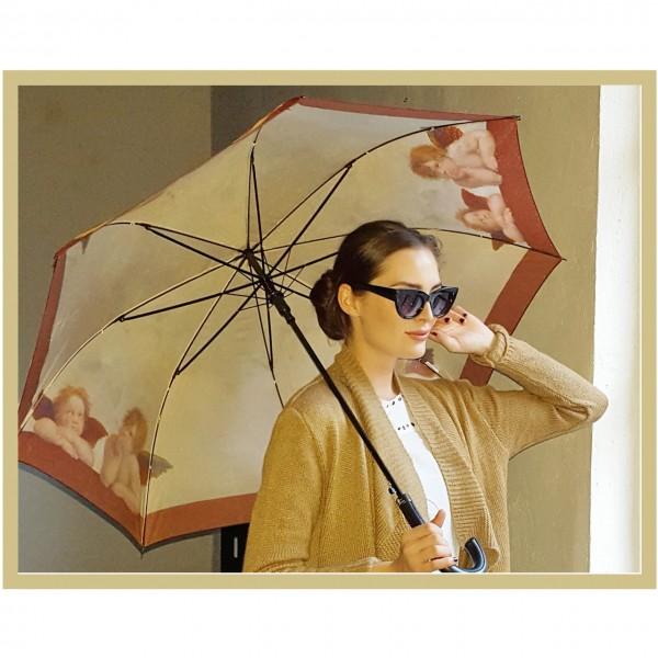 Regenschirm Automatik Kunst Motiv Raffael: Engel