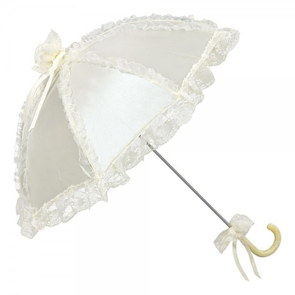 "Bridal umbrella ""Malisa"", champagne"