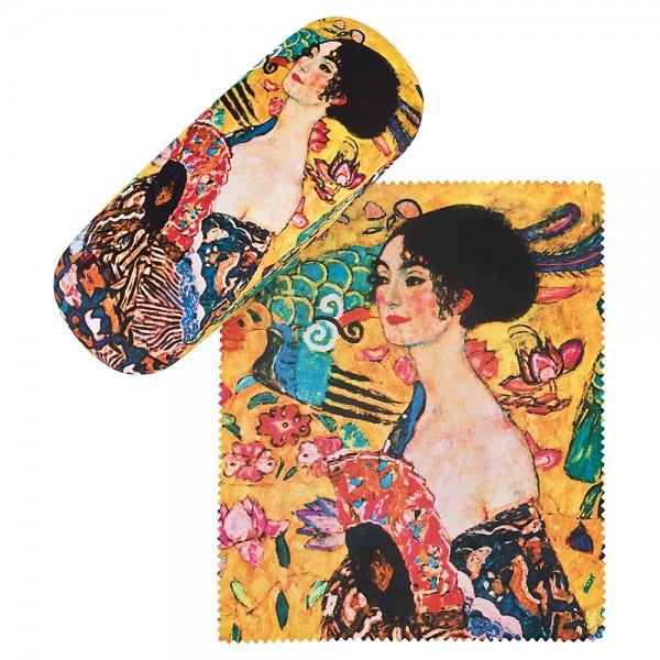 Glasses case Gustav Klimt: Lady with Fan