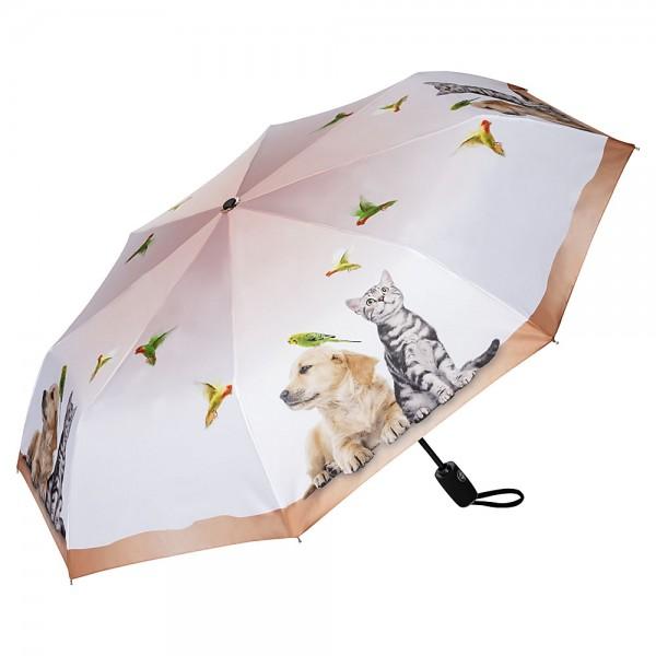 Folding pocket umbrella auto-open-close telescopic Animal Life