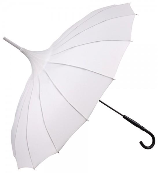 """Regenschirm Sonnenschirm Pagode """"Cécile"""", ecru"""