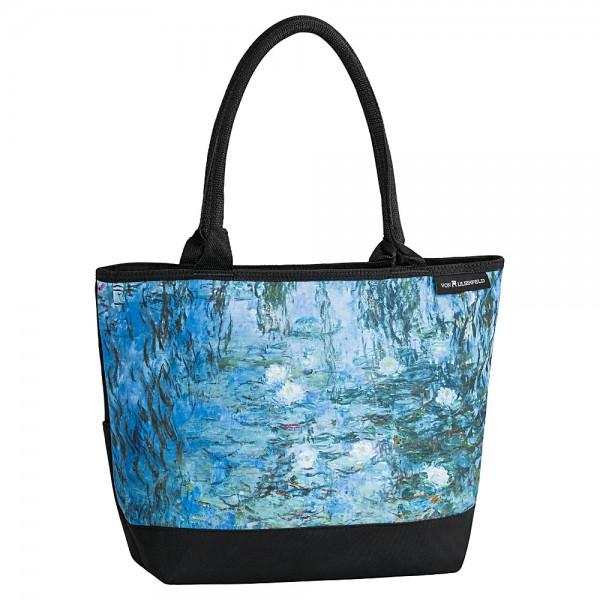 Tote Bag Shopping Art Claude Monet: Waterlilies