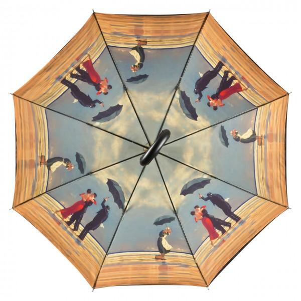 """Motivschirm Automatik Jack Vettriano: """"Singing Butler"""", doppelt bespannt"""