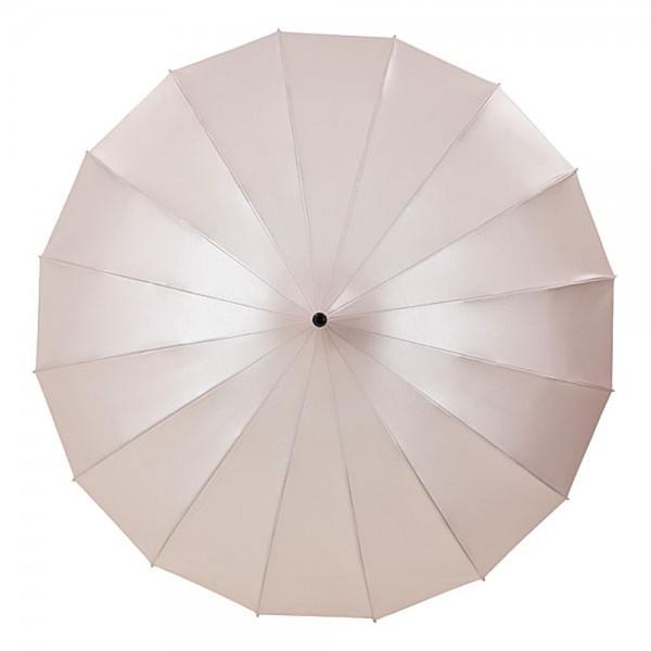 """Regenschirm Sonnenschirm Pagode """"Cécile"""", puderrosa (metallic)"""